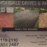 Avondale drives and patios profile image.