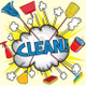Kent cleaning service logo