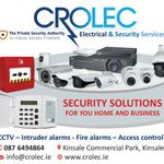 Crolec Electrical and Security Services profile image.