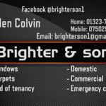 Brighter&son cleaning services profile image.