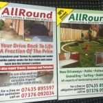 ALL ROUND LANDSCAPING & DRIVEWAY SERVICES profile image.