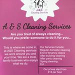 A&S Cleaning Services profile image.