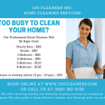 100 Cleaners Inc. profile image.