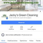 Jacky's Green Cleaning profile image.