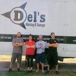 Del's Moving & Storage profile image.