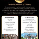 Amazon Gold Cleaning Services LLC profile image.