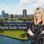 Estate Planning & Probate Attorney Rachel Drude-Tomori profile image.