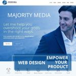 Majority Media LLC profile image.