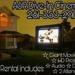 A&R Dive In Cinema, LLC 281-353-2901 profile image.