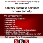 Solvers Business Services profile image.