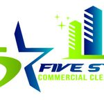 Five Star Commercial Cleaning profile image.