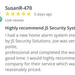 JS Security Solutions profile image.
