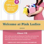Pink Ladies Cleaning Service profile image.