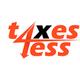 Taxes 4 Less & Accounting  logo