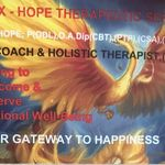 Phoenix-Hope. Life & Business  Coach, Psychotherapist & Counselling Supervision,  Holistic Psychotherapist &Clinical Supervision. Teacher/Trainer. TEL: 07885656627 profile image.