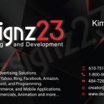 Designz23 Marketing and Development  profile image.
