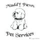 Muddy Paws Pet Services logo