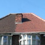 B and P roofing profile image.