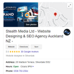 Stealth Media Online Solutions - 5 Star Google Rating profile image.