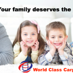World Class - Carpet Cleaning, Pest Control & Bond Cleaning profile image.