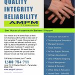 AMPM IT Solutions profile image.