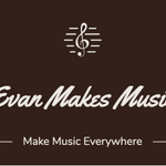 Evan Makes Music profile image.