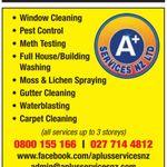 A+ Services NZ LTD profile image.