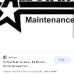All Star Home Maintenace profile image.