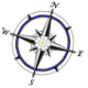 Compass Rose Counselling logo