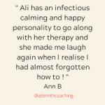Ali Smith Coaching profile image.