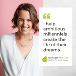 Natalie Moore | Holistic Psychotherapy profile image.