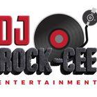 DJ Rock-Cee Entertainment logo