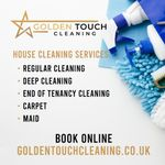 Golden Touch Cleaning profile image.