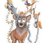 Alex Crump illustration profile image.