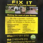 Fixit landscaping & driveway contractors