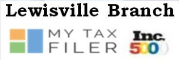 Lewisville MyTaxFiler profile image.