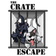 THE CRATE ESCAPE Dog Walking Service logo