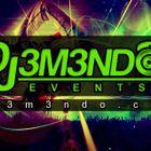 DJ 3M3NDO EVENTS