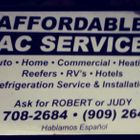 Affordable A/C and Heating