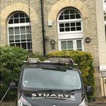 Stuarts window cleaning services profile image.