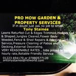 Pro Mow Garden and Property services profile image.