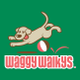 Waggy Walkys LLC logo