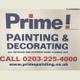Prime Painting & Decorating logo