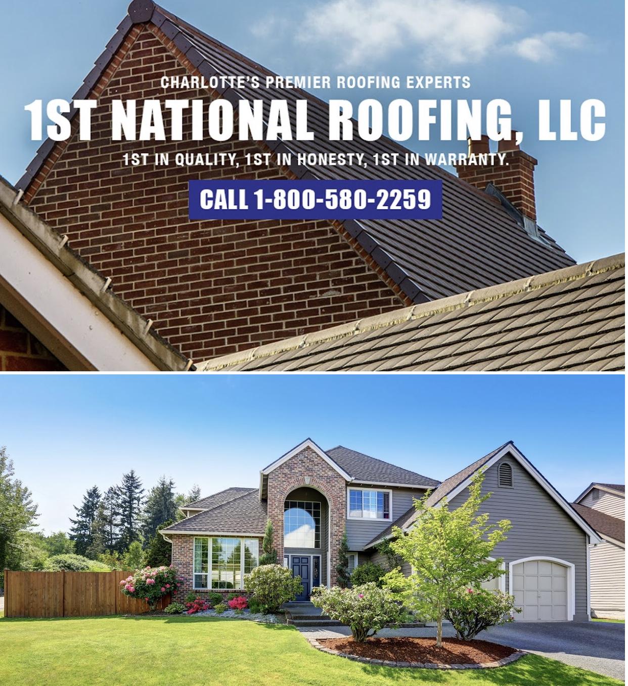 1st National Roofing LLC   Bark Profile